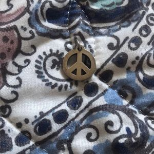 James Avery Retired Peace Sign ( NO LONGER MADE )